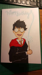 Harry Potter Birthday Card by Jenko-the-Red