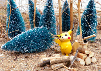 Pick your tree, Pikachu! by Bimmi1111