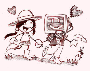 Dual-processor Love by A-Terrible-Cartoon