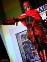 DWL - Red Man : Smile by Karumaru