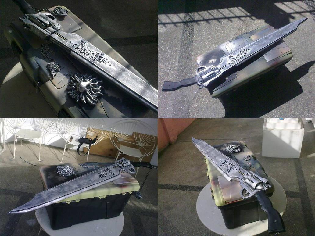 Squall Leonhart's Gunblade by Karumaru