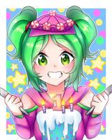 Zoey Fortnite Anniversary by HarumiKitsune