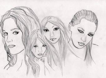 Four Faces by KyasurinBerri