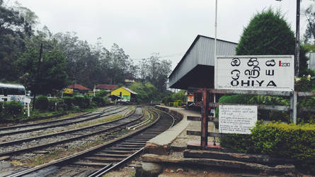 Ohiya Railway Station by CrazyNalin