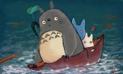 totoro_thoughts for japan by coolr