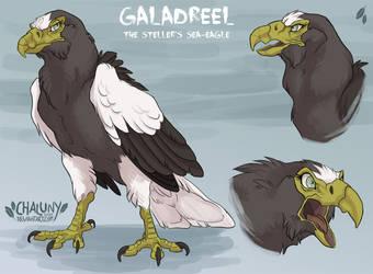 Galadreel der Riesenseeadler by Chaluny