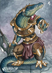 Commission - Rune Wars Renekton by Chaluny