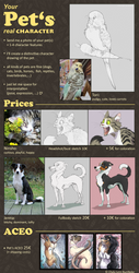 Your Pet's real Character - Slots OPEN by Chaluny
