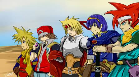 Heroes by Diusym