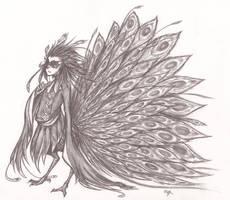 Peacock Hybrid by nyabunny605