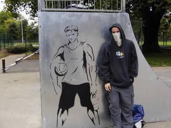 Ball Player by guerrilla-tactics