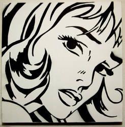 Roy Lichtenstein tribute by guerrilla-tactics