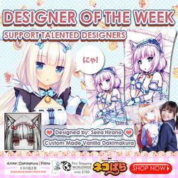 BE THE NEXT FEATURED DESIGNER OF THE WEEK! by AnimeDakimakuraPillo
