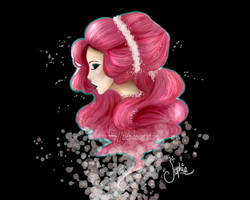 Pink Hair by Zoehi