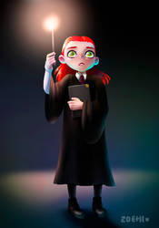 Ginny Weasley by Zoehi