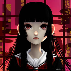 Jigoku Shoujo by Zoehi