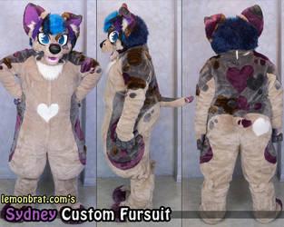 Sydney Custom Fursuit by lemonbrat