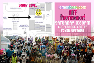 Lemonbrat Photoshoot Midwest Furfest 2016! by lemonbrat