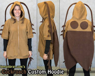 Cockroach Custom Hoodie by lemonbrat