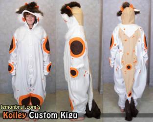 Koiley Custom Kigu by lemonbrat