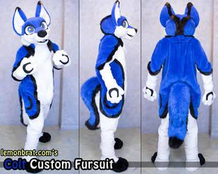 Colt Custom Fursuit by lemonbrat