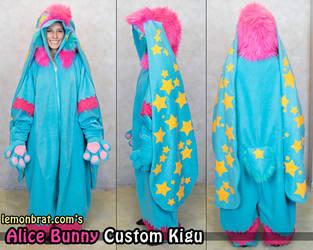 Alice Bunny Custom Kigu by lemonbrat