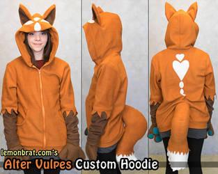 Alter Vulpes Custom Hoodie by lemonbrat