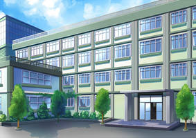 Comission-School Background by Wanaca
