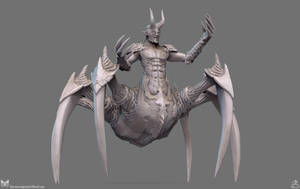Beinrekker High Poly Sculpt View 2 by DarrenTucker