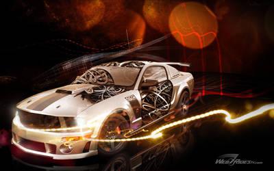 WebRidesTv Roush Mustang by zachiatrist