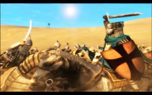 Desert battle by Giovi90