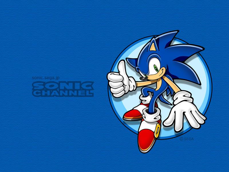 Sonic Channel Wallpaper Sonic By Truesonicsonikku On Deviantart