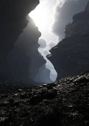 Dark Canyon by sethlebatard