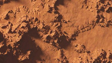 Martian Landscape by sethlebatard
