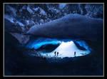 The Ice Cavern by michaelanderson