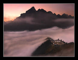 Monastery of the Clouds by michaelanderson