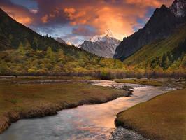 Mystic Waters of Shangri La by michaelanderson