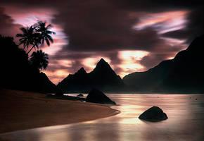 Monsoon Sunrise by michaelanderson