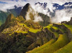 Clearing Storm over Machu Picchu by michaelanderson