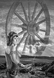 Wheel of Lugh with lady Miir by taisteng