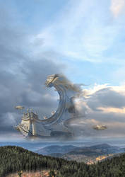 Lord of the Cloudships by taisteng
