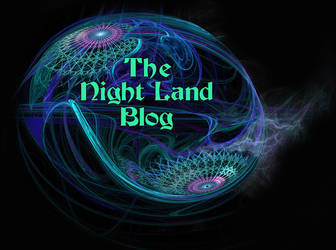 Logo for the Night Land blog by taisteng
