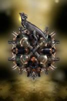 Steampunk-lizard by taisteng
