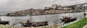 panorama Porto- Portugal by taisteng