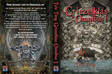 Final cover for De Griezelklas Omnibus #1 by taisteng