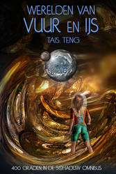 New cover for e-book WERELDEN VAN VUUR EN IJS by taisteng