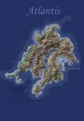 Zoomable map of Atlantis (Blavatsky's world) by taisteng