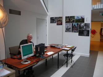 Artist in residence pop-up museum Smaak by taisteng