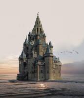 Slot Detholm en de eeuwigdurende zonsondergang by taisteng