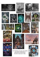 mijn schilderijen op de tentoonstelling by taisteng
